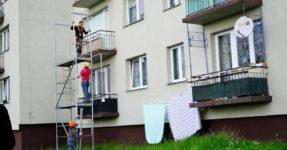 Przetarg – remont balkonów
